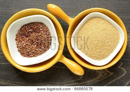 Amaranth And Flax Seed