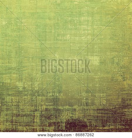 Retro background with old grunge texture. With different color patterns: brown; gray; green