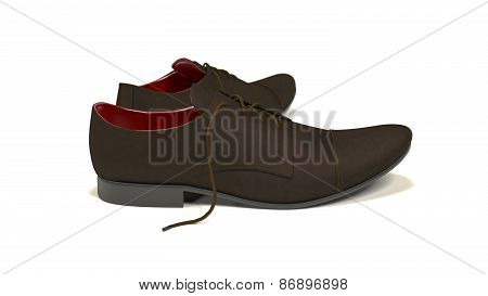 Formal Shoes Brown Leather