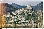 stock photo of tora  - Castel di tora  - JPG