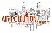 stock photo of environmental pollution  - Air pollution  - JPG