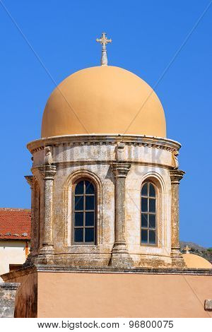 The dome of the Orthodox chapel