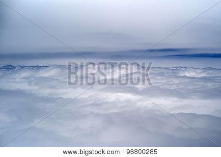 Grey Fluffy Rain Clouds