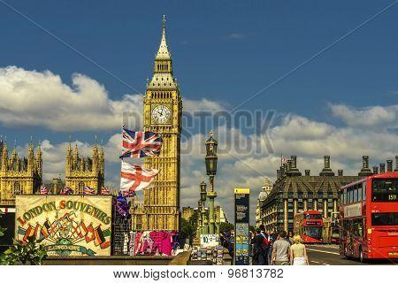 Bustling London