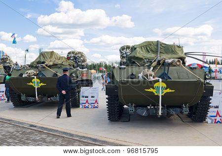 Airborne combat vehicle BMD-4
