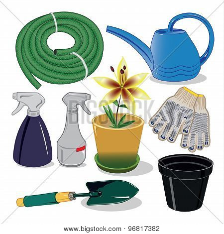 Care of plants for the garden and country houses