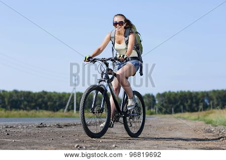 Summer bike walk