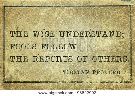 Wise Underst Tp