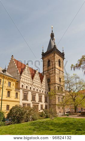 New Town Hall (circa 1456) In Prague