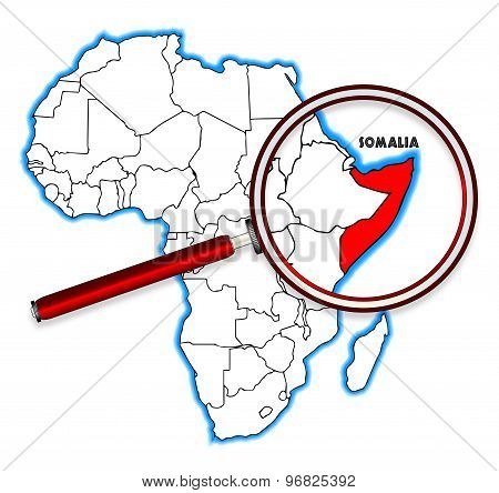 Somalia Under A Magnifying Glass