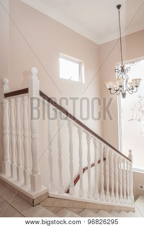 Staircase Of A New House