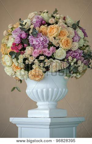 Decorative Posy Of Flowers