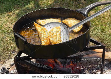 Fried Cheburek