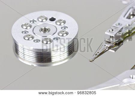 Hard disk reader