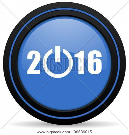 new year 2016 icon new years symbol