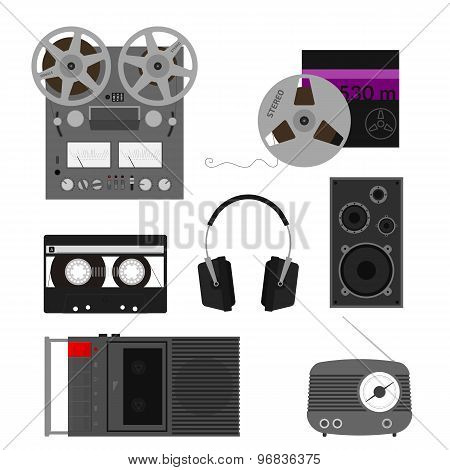 Old audio set