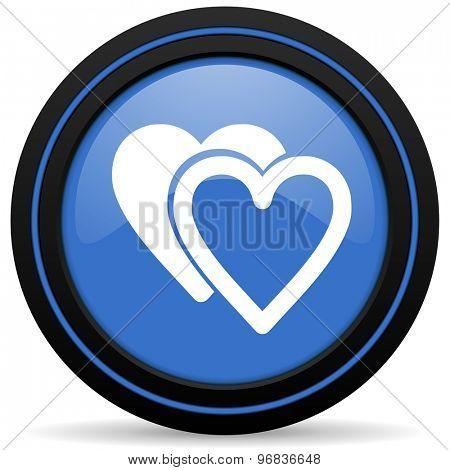 love icon sign hearts symbol