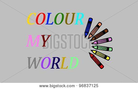 colour my world quote