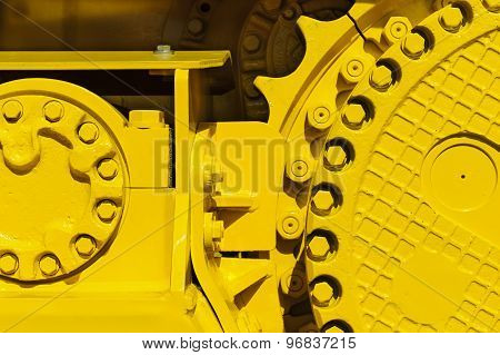 Bulldozed drive gear