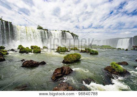 Iguazu waterfall, Brazil