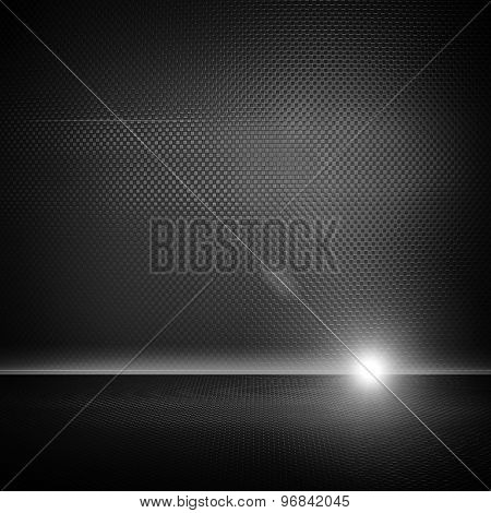 metal interior with lighting background
