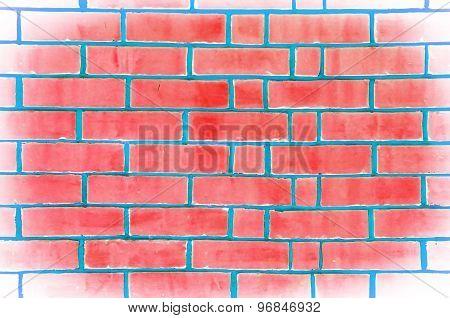 Abstract grunge wall brickwork texture background