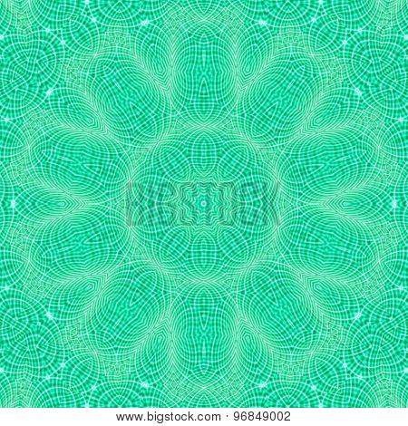 Abstract Green Pattern