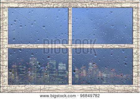 Window Frame Cityscape