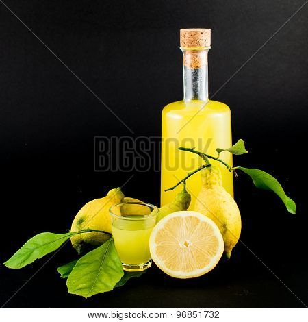 Limoncello Glass Liqueur