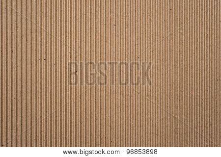Cardboard Corrugated Pattern Background Vertical