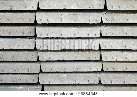 Arrange Of Cement Sheet