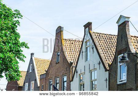 Dutch Building Facades.