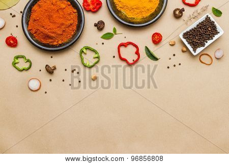 Spices For Herb.