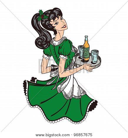 Irish Waitress