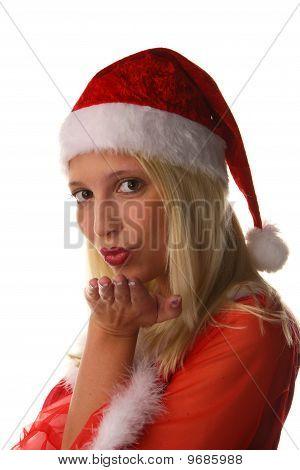 Woman As Santa Claus