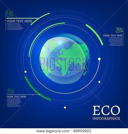 ecological globe