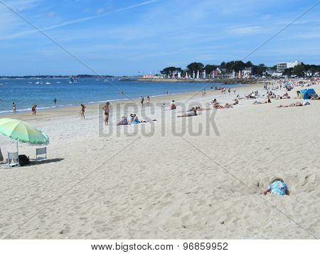 Main Beach, Carnac Plage, France