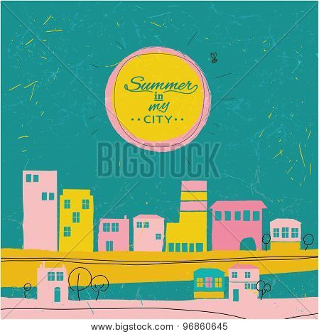Summer in a city