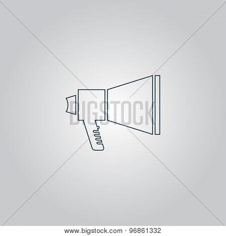 Megaphone symbol
