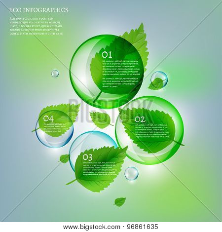 02 Infographics Leaves Bubble copy