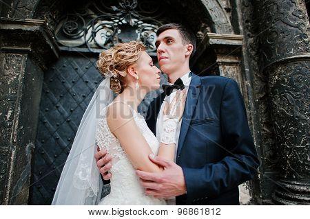 Newlyweds Background Old  Black Stone Oratory