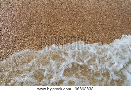 Wave On The Sand