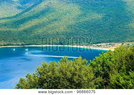 Antisamos Beach Kefalonia Island, Greece