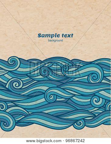 Waves Background