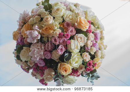 Colorful Posy Of Flowers