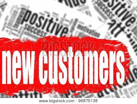 Word Cloud New Customers