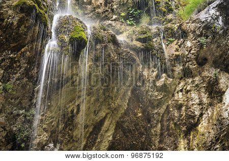 Waterfall in horizontal format