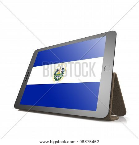 Tablet With El Salvador Flag