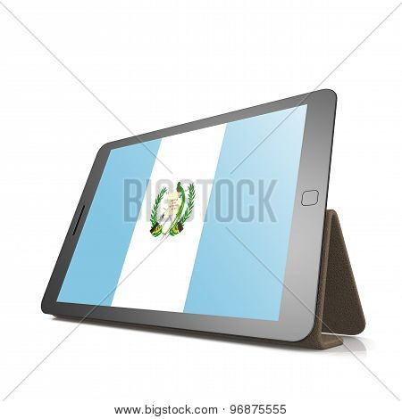 Tablet With Guatemala Flag