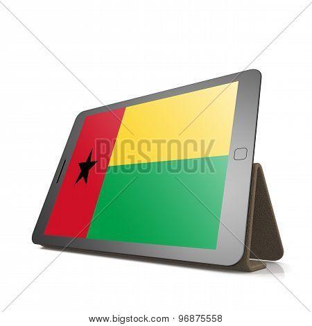 Tablet With Guinea Bissau Flag